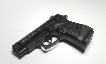 Продам стартовый пистолет Stalker 2914 Black (MBP) Розница, ОПТОМ Второе покол. Киев, Киевская область. фото 4
