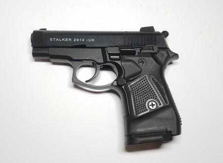 Продам стартовый пистолет Stalker 2914 Black (MBP) Розница, ОПТОМ Второе покол. Киев, Киевская область. фото 3