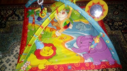 Развивающий коврик Tiny love Остров обезьянки. Желтые Воды. фото 1