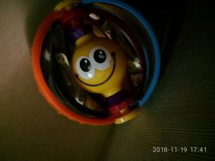 Развивающая игрушка погрeмушка. Киев. фото 1