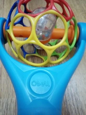 Погремушка O-ball O'ball интерактивная игрушка. Днепр. фото 1