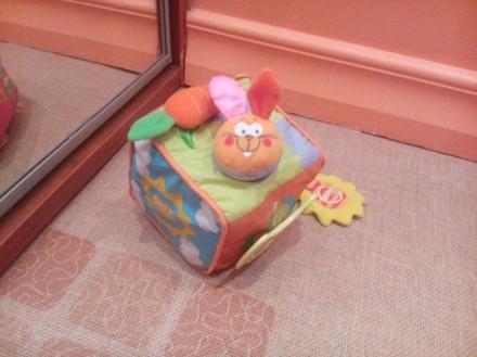 Кубик мягкий для малышей.. Бердичев. фото 1