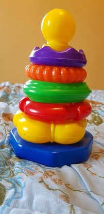 Пирамидка игрушка для малышей. Винница. фото 1