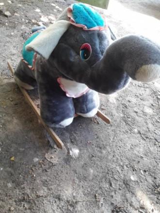 Слоник-качалка. Винница. фото 1