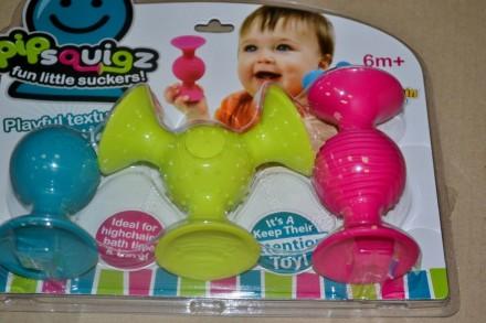 Погремушка присоска pipSquigz Fat BrainToys США. Запорожье. фото 1