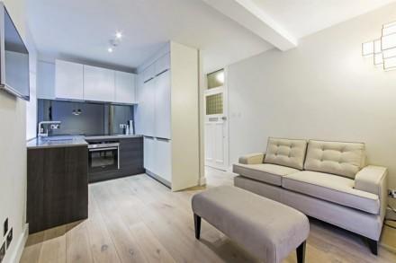 Удачное сочетание современных ремонта и мебели. Две комнаты,т.е кухня-студия и с. Херсон. фото 1
