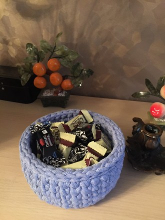 Корзинка для інтер'єру ручної роботи може стати унікальним подарунком для Ваших . Чернигов, Черниговская область. фото 6