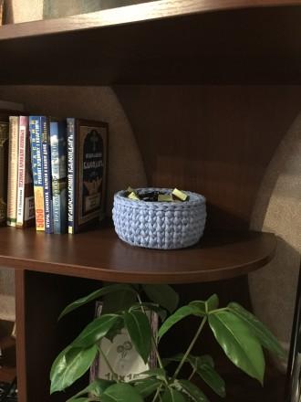 Корзинка для інтер'єру ручної роботи може стати унікальним подарунком для Ваших . Чернигов, Черниговская область. фото 2