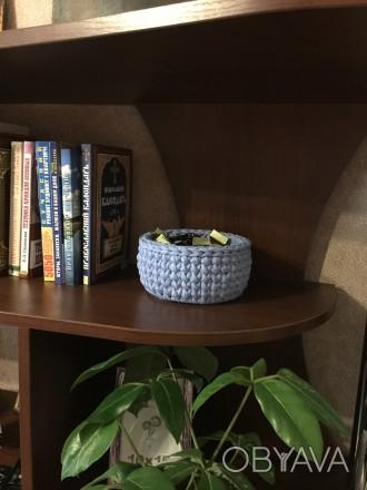 Корзинка для інтер'єру ручної роботи може стати унікальним подарунком для Ваших . Чернигов, Черниговская область. фото 1