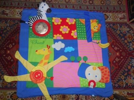 Развивающий коврик Чикко. Павлоград. фото 1