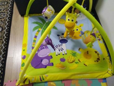 Продам развивающий коврик Baby team. Днепр. фото 1