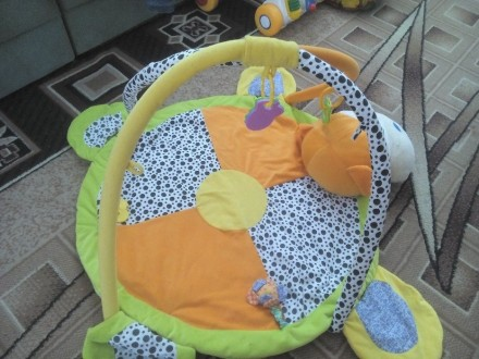 Развивающий детский коврик. Липовец. фото 1