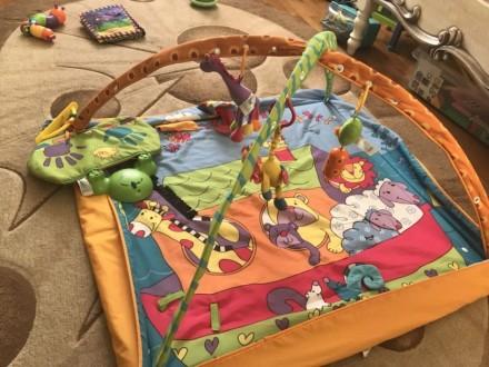Развивающий коврик tiny love. Винница. фото 1