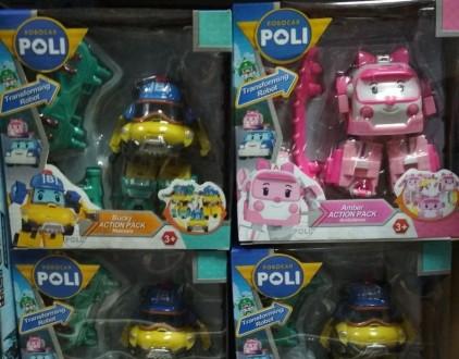 Robocar Poli фигурки героев с амуницией.. Винница. фото 1