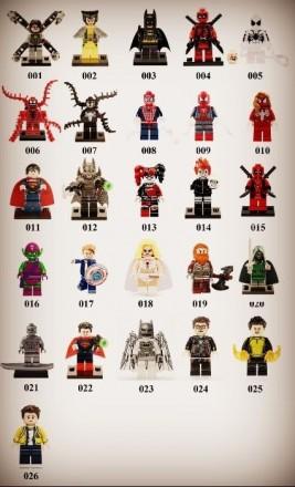 Lego Super Hero Marvel DC Comics Лего Супер Герои марвел фигурки Веном. Винница. фото 1