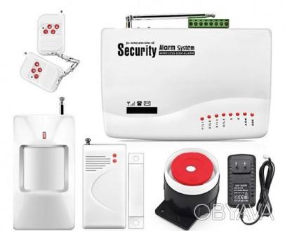 Купи беспроводную GSM сигнализацию для квартиры, дачи, офиса, магазина, гаража п. Киев, Киевская область. фото 1