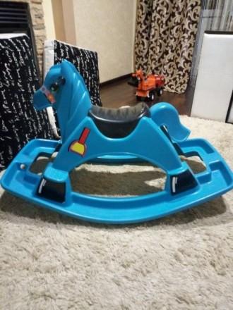 Детская лошадка-качалка. Лисичанск. фото 1