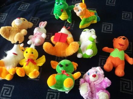 Мягкие игрушки небольшие новые. Киев. фото 1