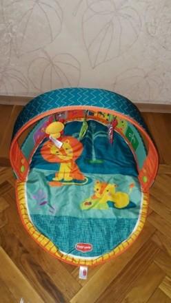 Развивающий коврик Африка Tiny love. Киев. фото 1