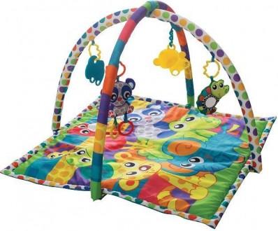 Развивающий коврик Playgro Друзья-животные. Каховка. фото 1