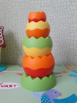 Пирамидка игрушка. Черновцы. фото 1