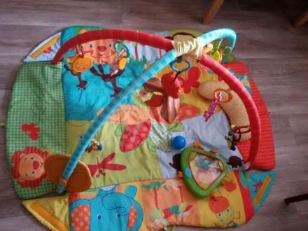 Продам детский развивающий коврик фирмы Tiny Love. Днепр. фото 1
