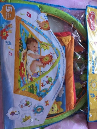 Продам развивающийся коврик Tiny love солнечный день. Киев. фото 1