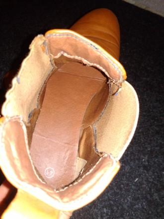 Осенние ботинки TOM&ROSE. Хорошая подошва. Брала себе, оказались велики, но наде. Тернополь, Тернопольская область. фото 5
