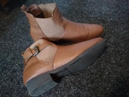 Осенние ботинки TOM&ROSE. Хорошая подошва. Брала себе, оказались велики, но наде. Тернополь, Тернопольская область. фото 4