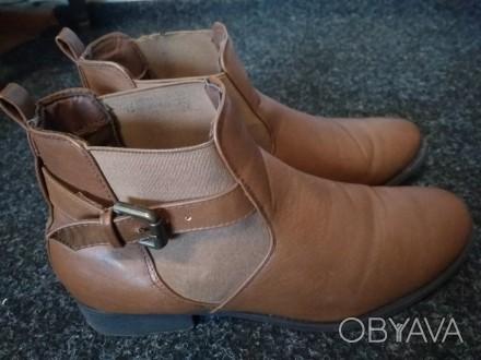 Осенние ботинки TOM&ROSE. Хорошая подошва. Брала себе, оказались велики, но наде. Тернополь, Тернопольская область. фото 1