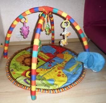 Детский развивающий игровой коврик Fairchild - слоник. Киев. фото 1