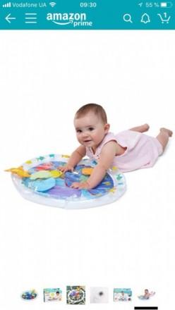 Развивающий водный коврик для малышей Earlyears Fill 'N Fun Water mat. Киев. фото 1