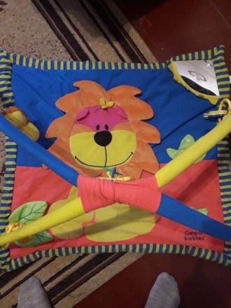 Игровой развивающий коврик. Ильинцы. фото 1