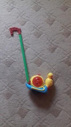 Каталка улитка детская трость. Киев. фото 1