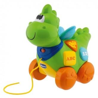 Chicco Игрушка-каталка развивающая Говорящий дракон. Куйбышево. фото 1