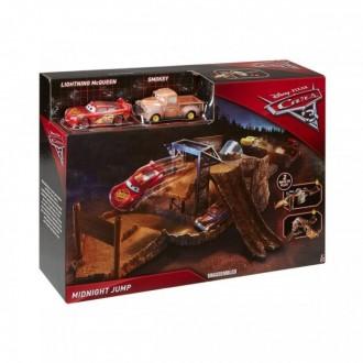 Игровой набор автотрек Mattel Cars Ночные гонки. Мариуполь. фото 1