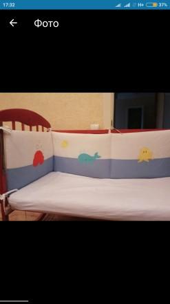 Защита на кроватку. Чернигов. фото 1