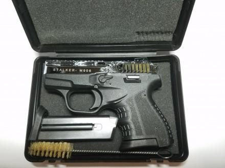 Продаю стартовые пистолеты Stalker 906 Shiny Chrome Plating Engraved Производит. Киев, Киевская область. фото 2