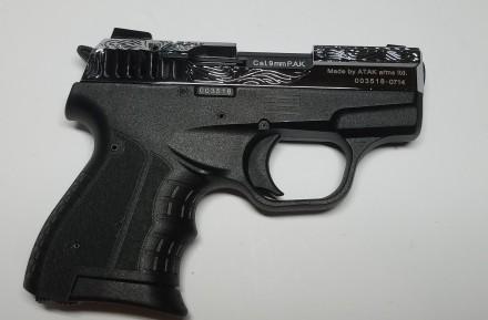 Продаю стартовые пистолеты Stalker 906 Shiny Chrome Plating Engraved Производит. Киев, Киевская область. фото 5