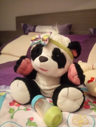 Панда интерактивная. Буча. фото 1