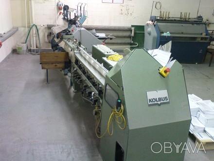 Продам автоматичний  самонакладаючий станок «Kolbus AH 385» до ниткошвейних  маш. Ивано-Франковск, Ивано-Франковская область. фото 1