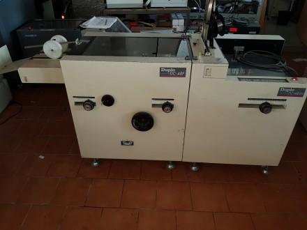 Продам фальцювально-швейний  модуль «Duplo DC-48SH+Duplo DC-48F». Ивано-Франковск. фото 1