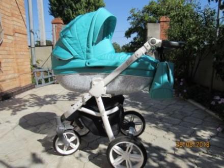 Универсальная детская коляска 2 в 1Roan Bass. Пологи. фото 1