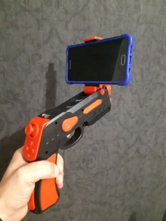 Пистолет виртуальной реальности. Первомайск. фото 1