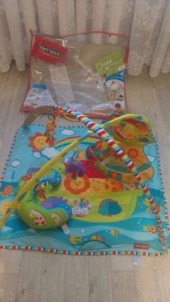 Развивающий коврик Tiny love. Киев. фото 1