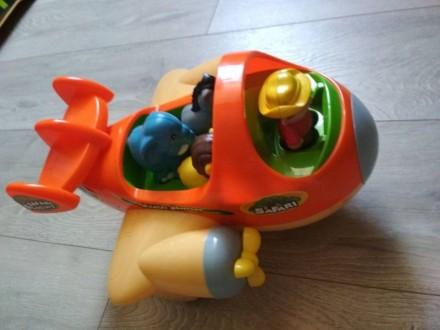 Музична іграшка / Каталка Keenway Самолет Сафари. Киев. фото 1