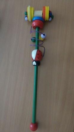 Каталка игрушка «Божья коровка», BINO. Киев. фото 1
