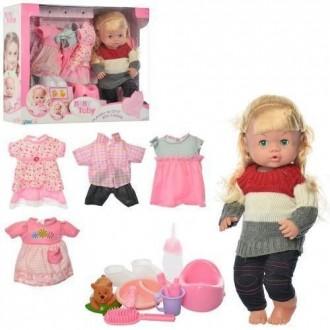 Кукла интерактивная. пупс с нарядами. Сумы. фото 1