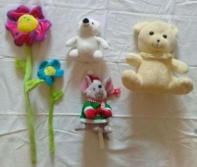 Мягкие игрушки, интерактивная мышка , за все 70 грн.. Кривой Рог. фото 1