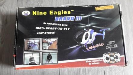 Радиоуправляемый вертолет Nine Eagles Bravo III. Киев. фото 1